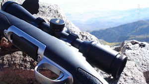 Browning X-Bolt on Cliff while Mule Deer Hunting in 2010 Wallpaper
