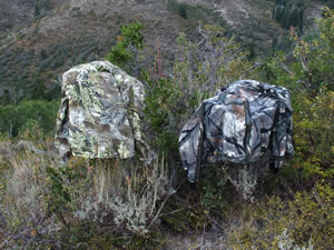 Comparing Realtree Max-1 camouflage and Mossy Oak Treestand camo on my 2012 limited entry elk hunt.