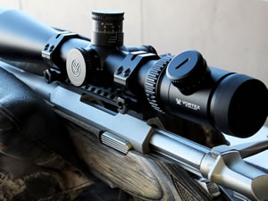 Vortex Viper PST with EGW 20 MOA Picatinny Rail on a Browning A-Bolt Varmint Stainless