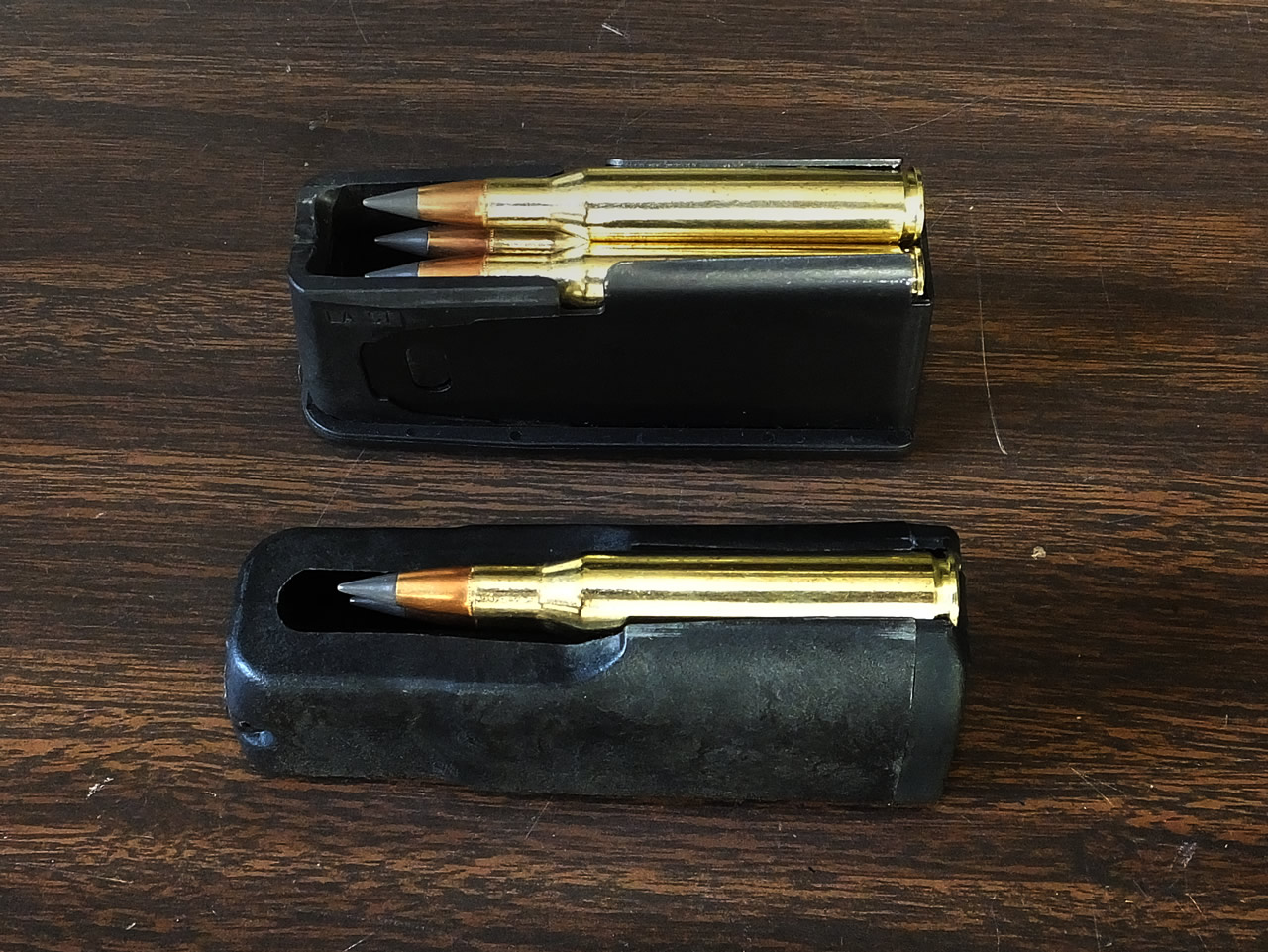 AB3 and X-Bolt loaded magazines