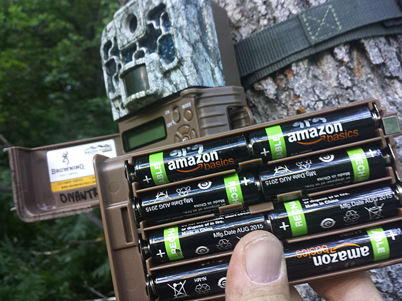 Browning Trail Camera with rechargeable batteries