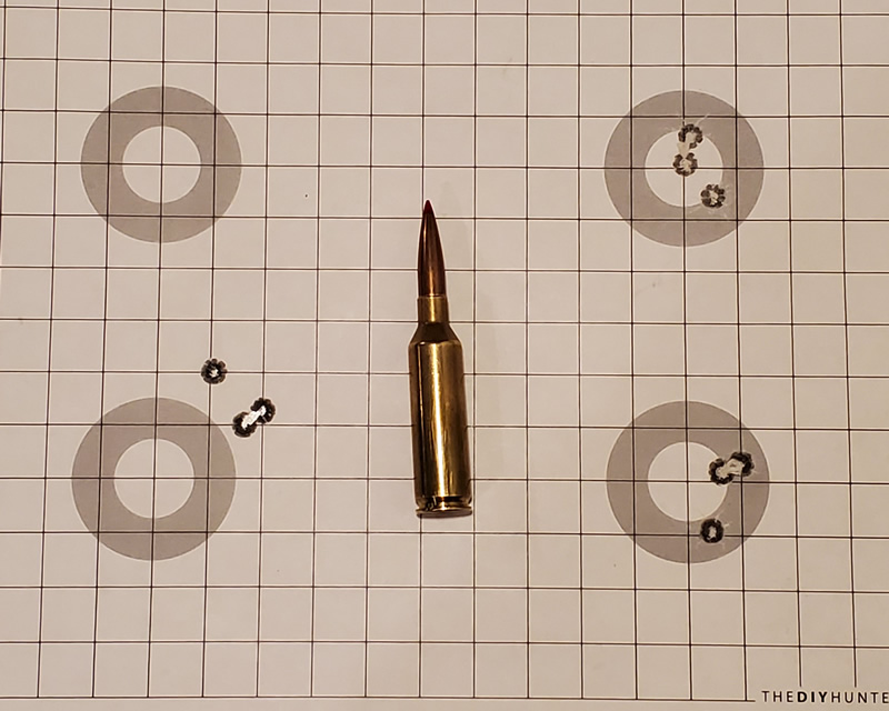 6.5 PRC 147 Gr ELD-M 100 Yard Groups