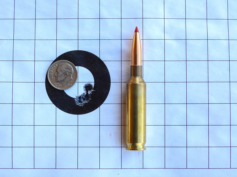 3 Shot 6mm Creedmoor group, 103 ELD-X